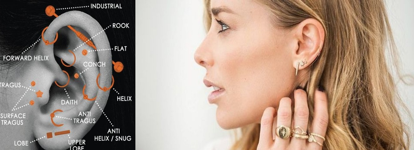 Pick Up The Right Ear Piercing For You
