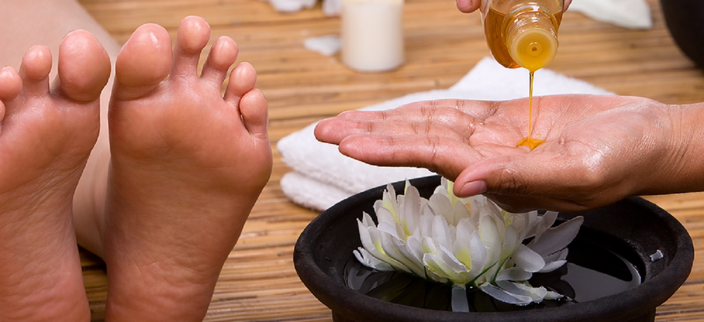 Aromatherapy Manicure and Pedicure