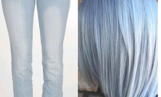 Denim Hair: The Latest Vivid Hair trend on Instagram